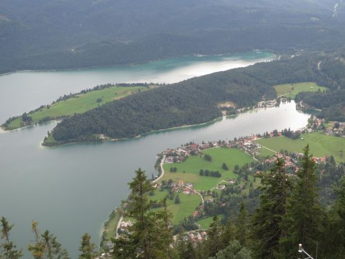 View from a Mountain in Bavaria