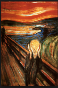 The Scream by Eduard Munch