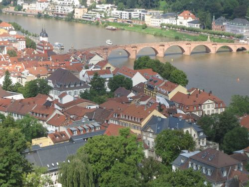 View in Heidelburg