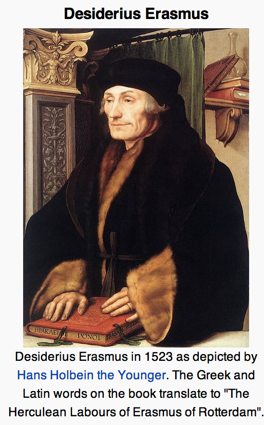 life of erasmus essay Open document below is an essay on desiderius erasmus- his life from anti essays, your source for research papers, essays, and term paper examples.